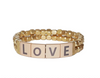 LOVE Tile Bracelet in Gold or Silver Finish by Marlyn Schiff