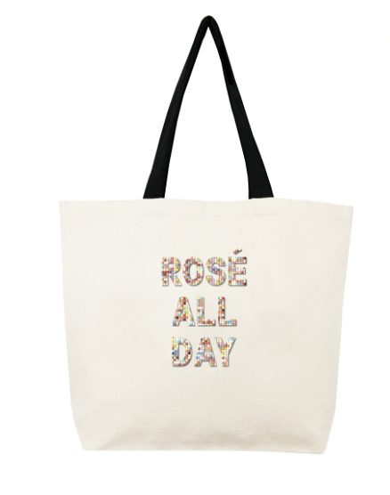 Rose All Day Confetti Bead Tote by Fallon & Royce