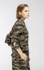Camo Button Down Blouse by No.21