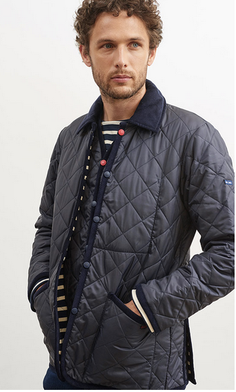 Raydon Navy Jacket by Saint James