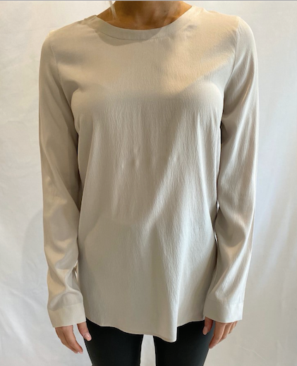 Silk Long Sleeve Blouse by Tonet