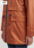 Amy Irridescent Rust Raincoat by Saint James