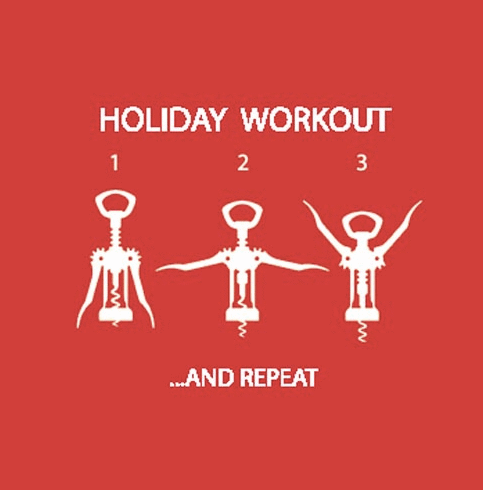 Holiday Workout Napkins