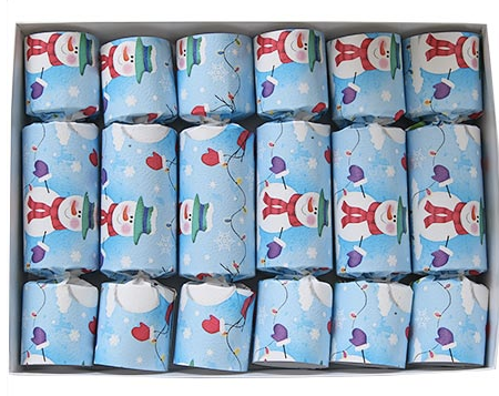 Frosty Christmas Crackers by Olde English Crackers
