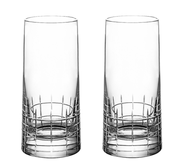 Graphik High Ball Glasses by Christofle