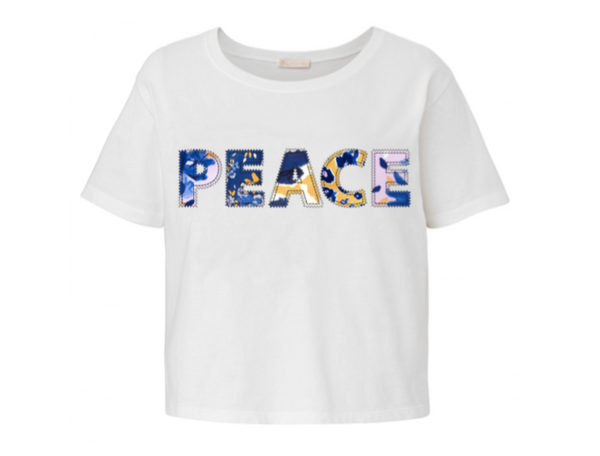 Peace Tee in White or Black by Alivia