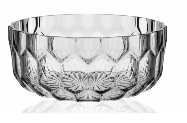 Jellies Large Bowl in Crystal or Blue by Kartell