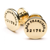 Brass, Steel or Coal  Cuff Links by The Caliber Collection - The Perfect Provenance