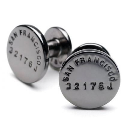cufflinks-coal-san francisco-caliber