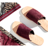 Off Duty Merlot Sandal by James Smith - The Perfect Provenance