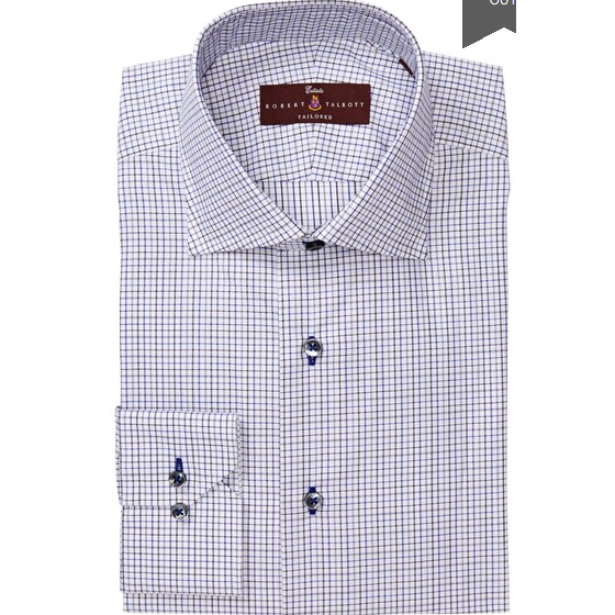 Windowpane Dress Shirt by Robert Talbott - The Perfect Provenance