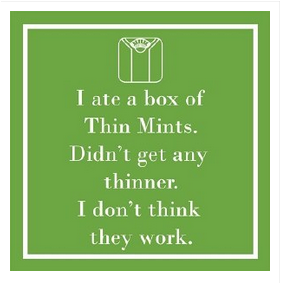 Thin Mints Napkins by Paper Products - The Perfect Provenance
