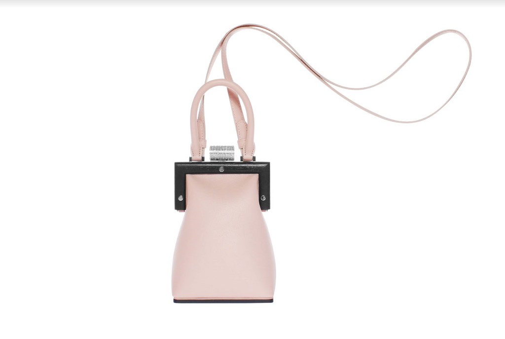 La Minaudière Leather in Blush by Perrin Paris