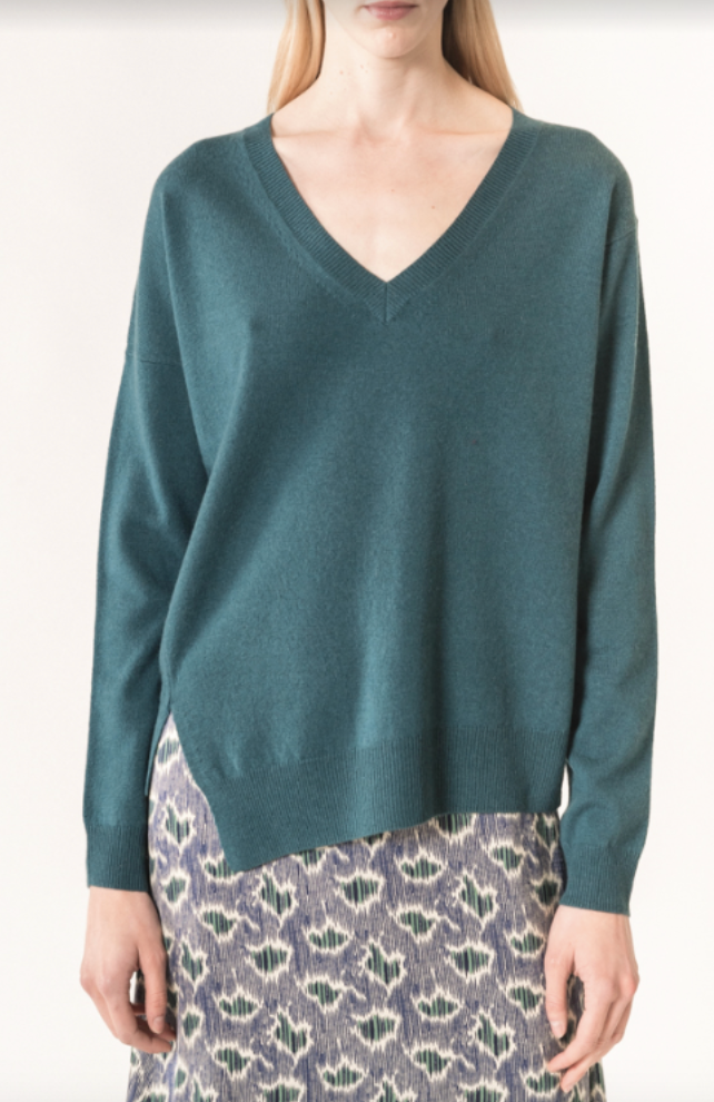 Maurane V Neck Sweater by Vanessa Bruno - The Perfect Provenance