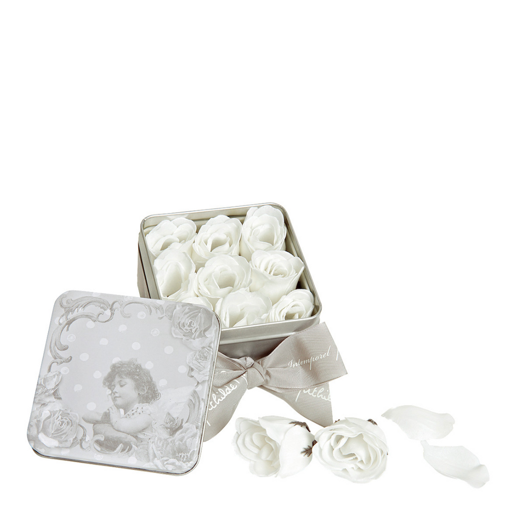 Box of Rose Petal Soap by Mathilde Creations - The Perfect Provenance