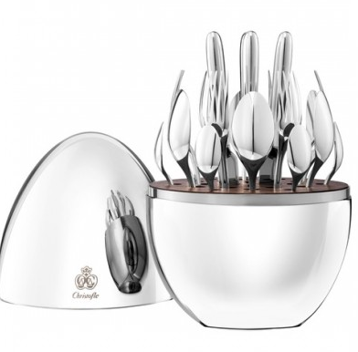 24-piece Silver Plated Mood Serving Set by Christofle