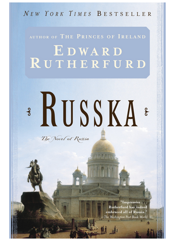 Russia: The Novel by Edward Rutherfurd - The Perfect Provenance