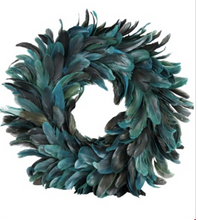 Green Feather Decor Wreath by Hoff Interieur - The Perfect Provenance