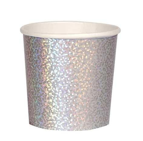 Silver Sparkle Tumbler Cups by Mere Meri - The Perfect Provenance