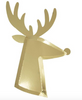Gold Reindeer Plates by Meri Meri - The Perfect Provenance