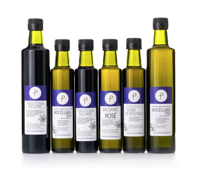 The Perfect Provenance Perfect Italian Extra Virgin Olive Oil & Balsamic Vinegar Collection