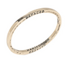 Brass Bangle by The Caliber Collection