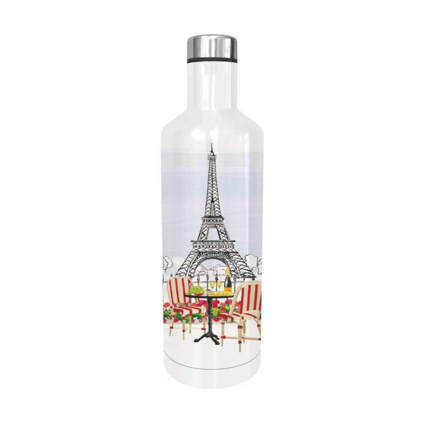 Bistro de Paris Water Bottle by Paper Products - The Perfect Provenance