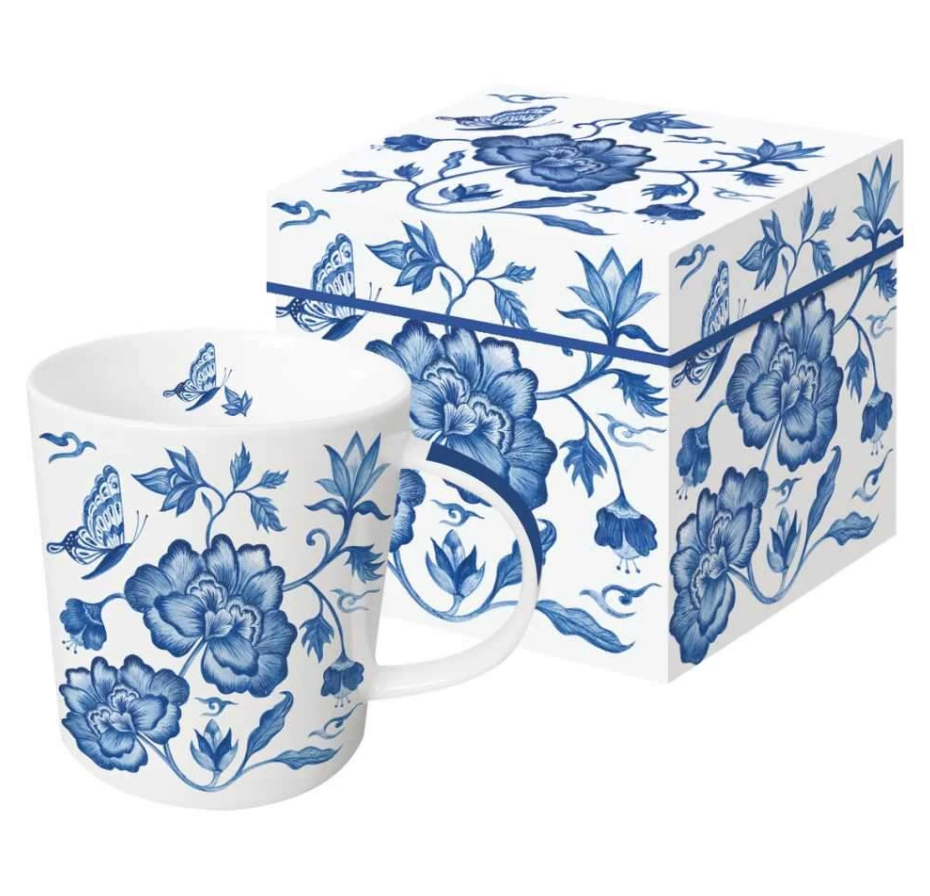 Princess Peony Gift Boxed Mug by Paper Products - The Perfect Provenance