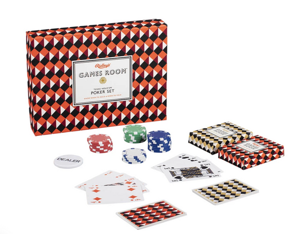 Poker Set by Ridley - The Perfect Provenance