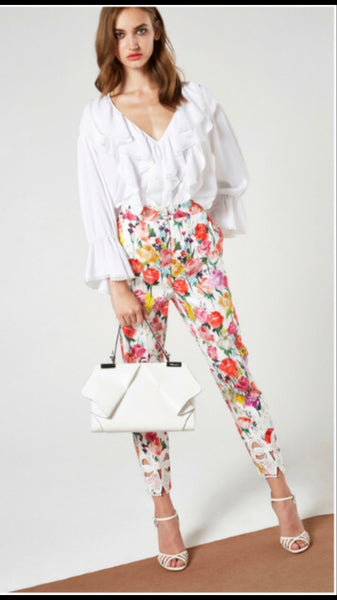 Floral Trouser by Blumarine - The Perfect Provenance