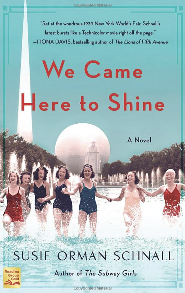 We Came Here to Shine by Susie Orman Schnall - The Perfect Provenance