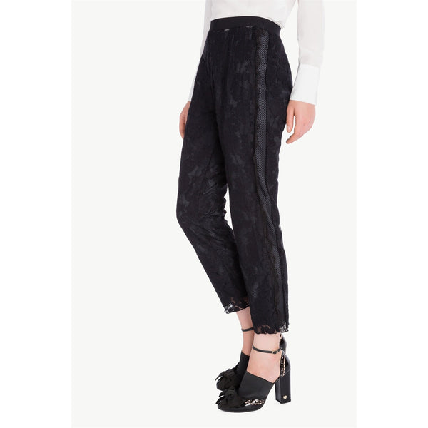 Black Lace Trousers by Twin-set - The Perfect Provenance