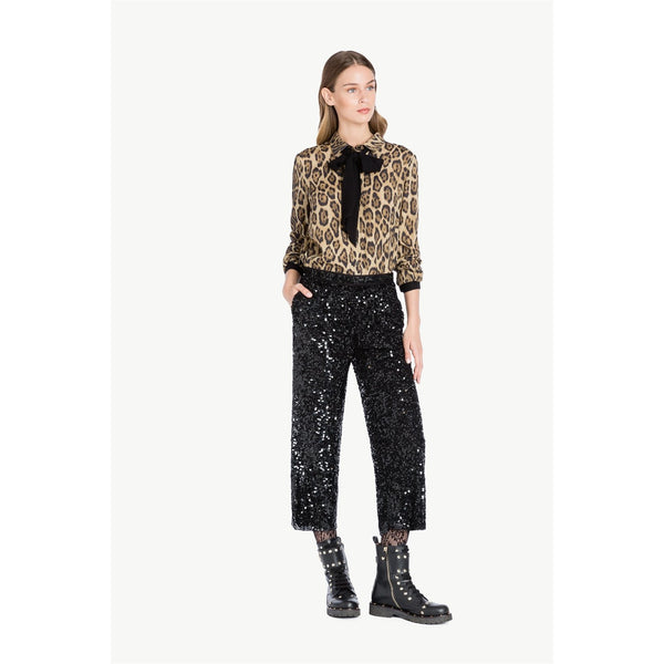 Cropped Sequin Trousers by Twin-Set - The Perfect Provenance