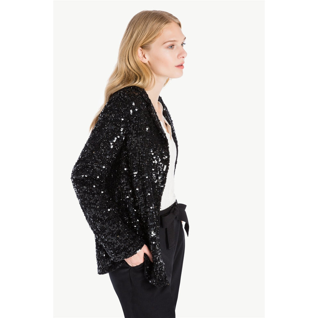 All Over Sequin Jacket by Twin-set - The Perfect Provenance