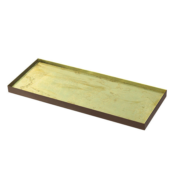 Gold Leaf Mini Tray by Notre Monde - The Perfect Provenance