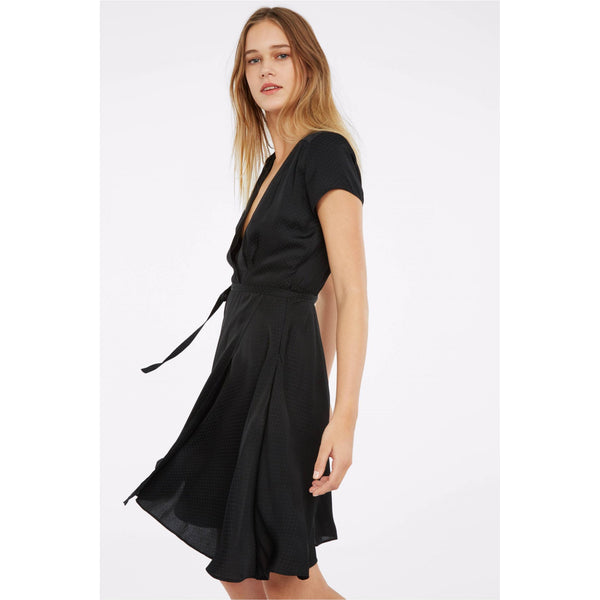 Axel Dress in Black or Orange by Les Petites - The Perfect Provenance