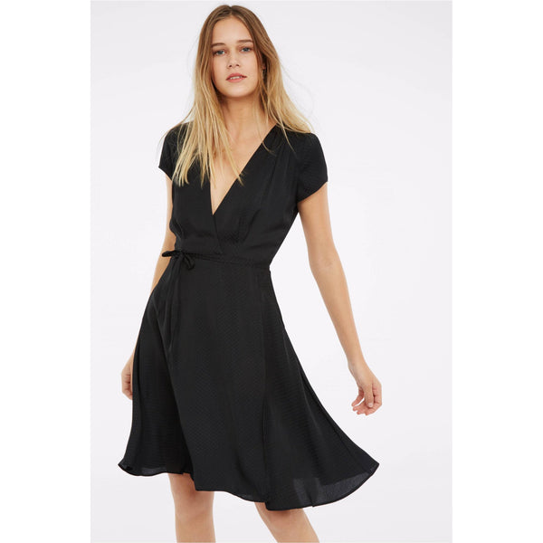 Axel Dress in Black or Orange by Les Petites