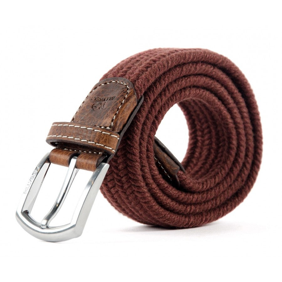 Club Bordeaux Wool Belt by Billy Belt - The Perfect Provenance