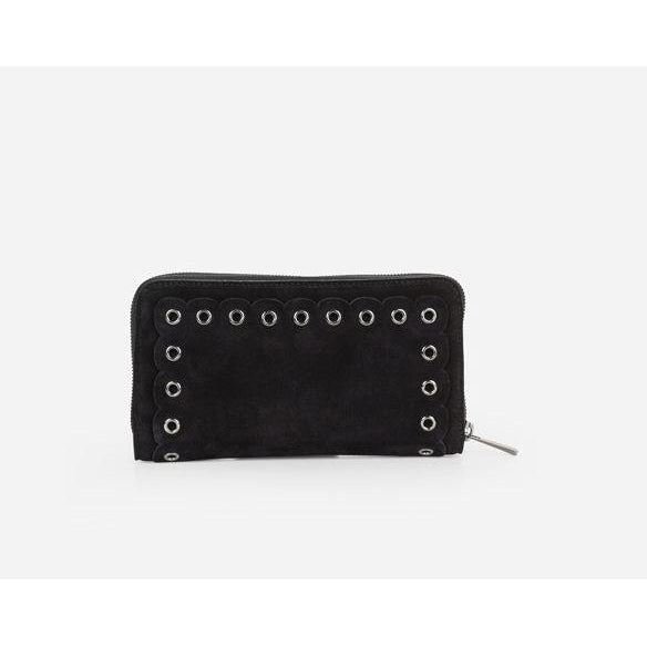 Suede Etoile Compagnon Wallet by Vanessa Bruno - The Perfect Provenance