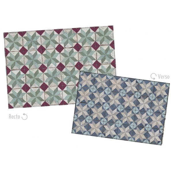 Tin Tiles Paper Placemats by Koziel