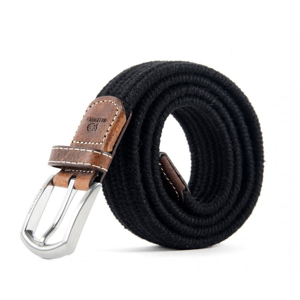 Club Black Wool Belt by Billy Belt