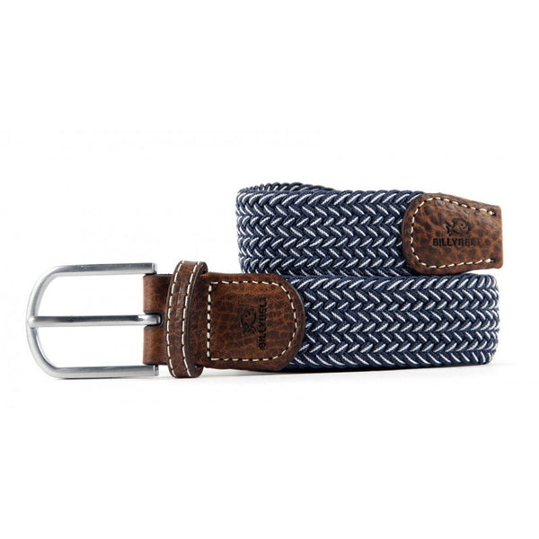 Braided Bogota Blue Belt by Billy Belt - The Perfect Provenance