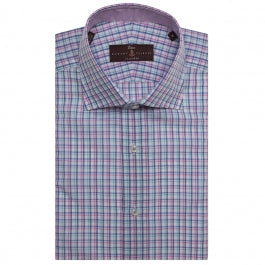 Estate Sutter Plaid Tailored Dress Shirt by Robert Talbott - The Perfect Provenance