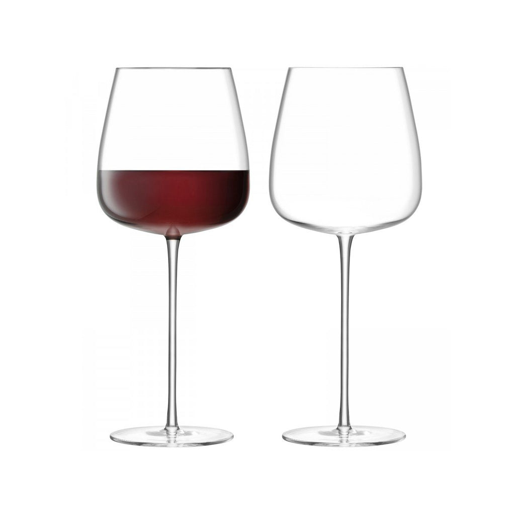 Wine Culture Red Wine Goblet Set of 2 by LSA