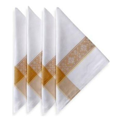 Imperatice Gold Napkin Set by Garnier Thiebaut