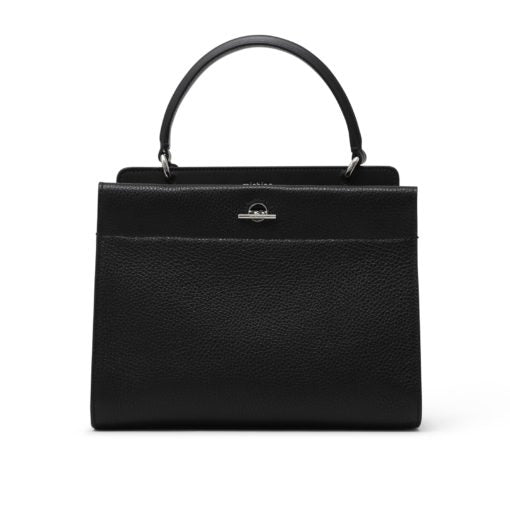 Honore Black Hand Bag by Michino Paris - The Perfect Provenance
