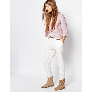 Elaya Crinkled Jaquard Pants by Athé - The Perfect Provenance
