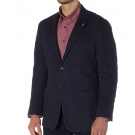 cotton-jacket-robert talbott-navy