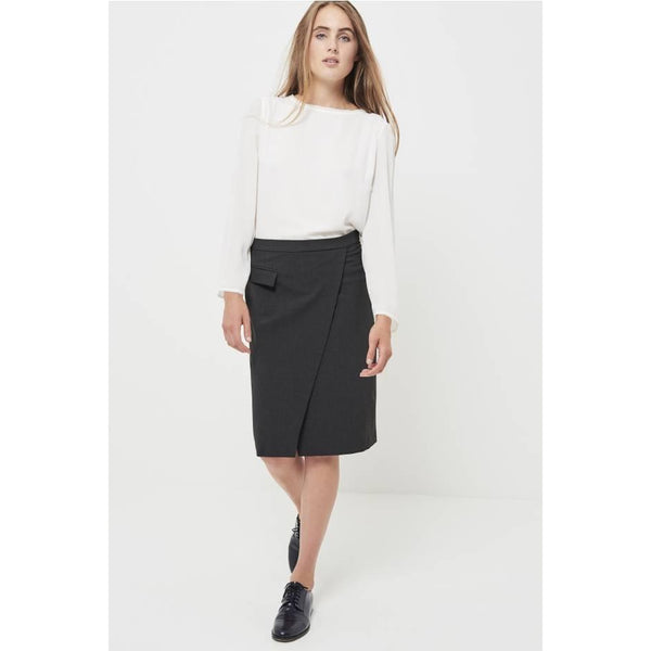 Perfect Pencil Skirt in Grey or Black by Les Petites - The Perfect Provenance