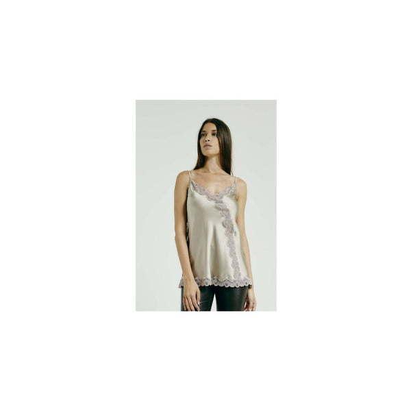 Novelty Cami Beige by Max & Moi